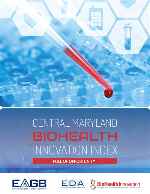 Central Maryland BioHealth Innovation Index - Cover